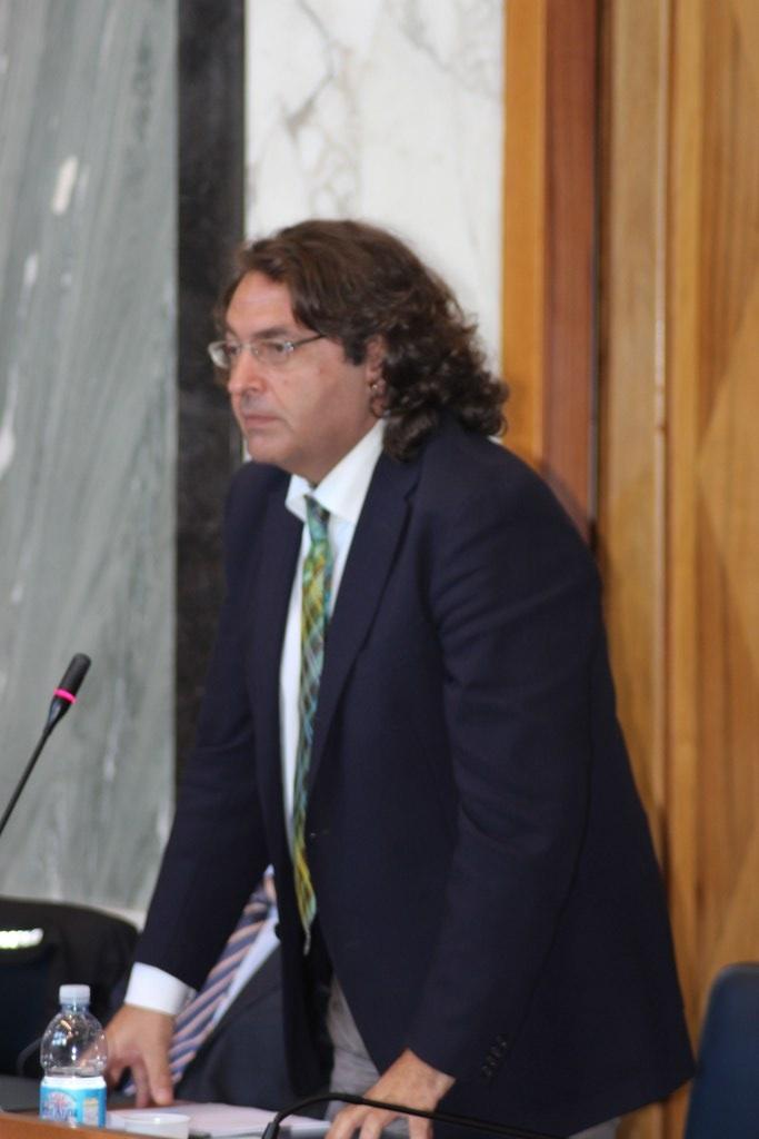 Il presidente della commissione urbanistica Fiorenzo Marino