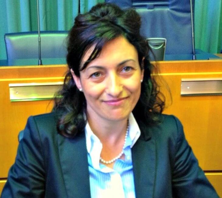Maria Teresa Parodi quadrata