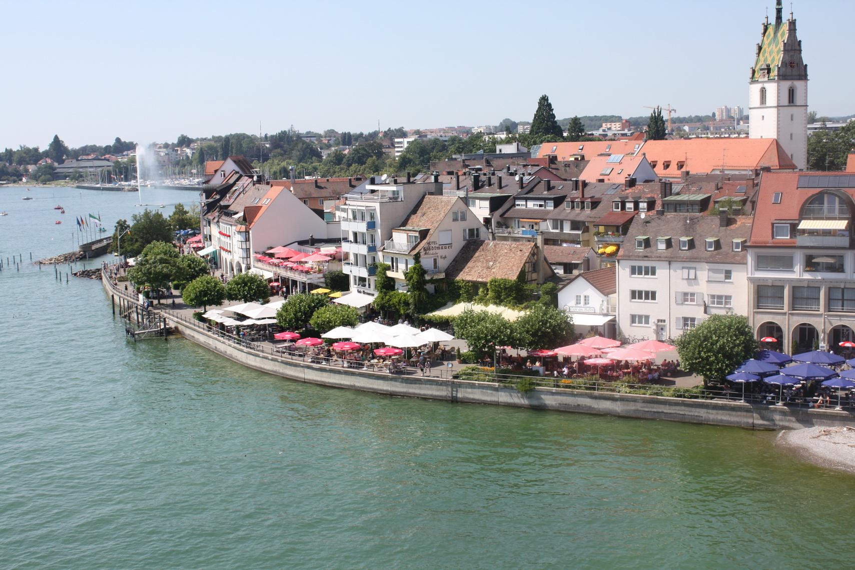 La città di Friedrichshafen sarà presto gemellata con Imperia