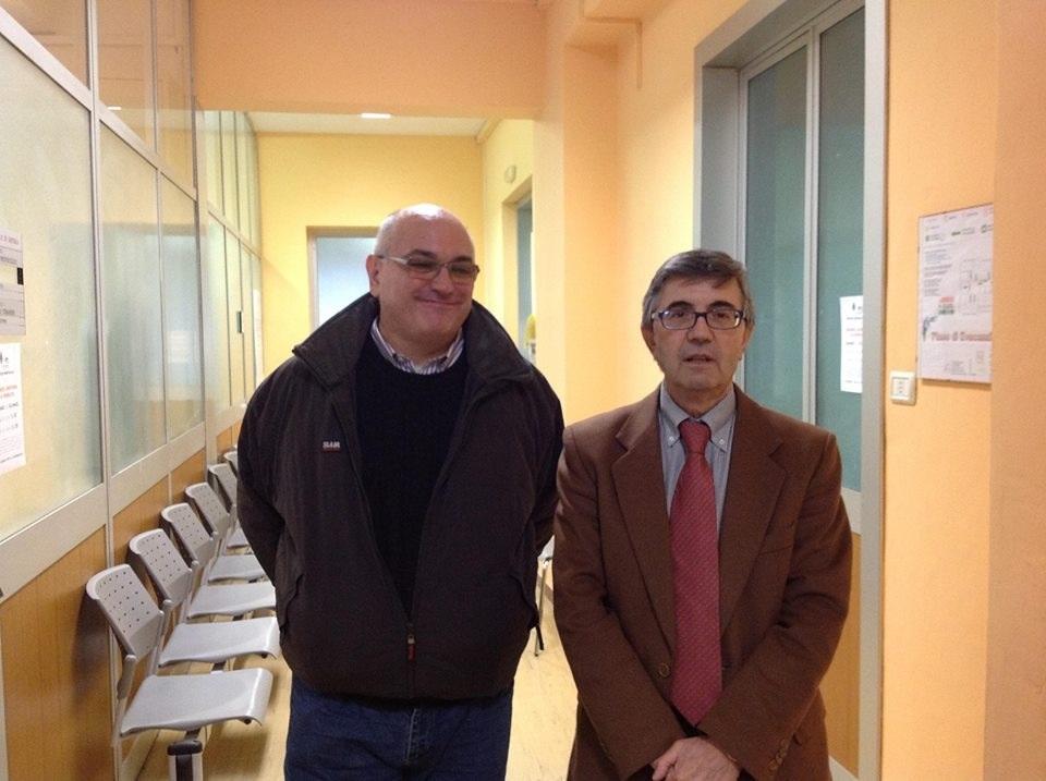 Alessandro Croce con Andrea Matarazzo