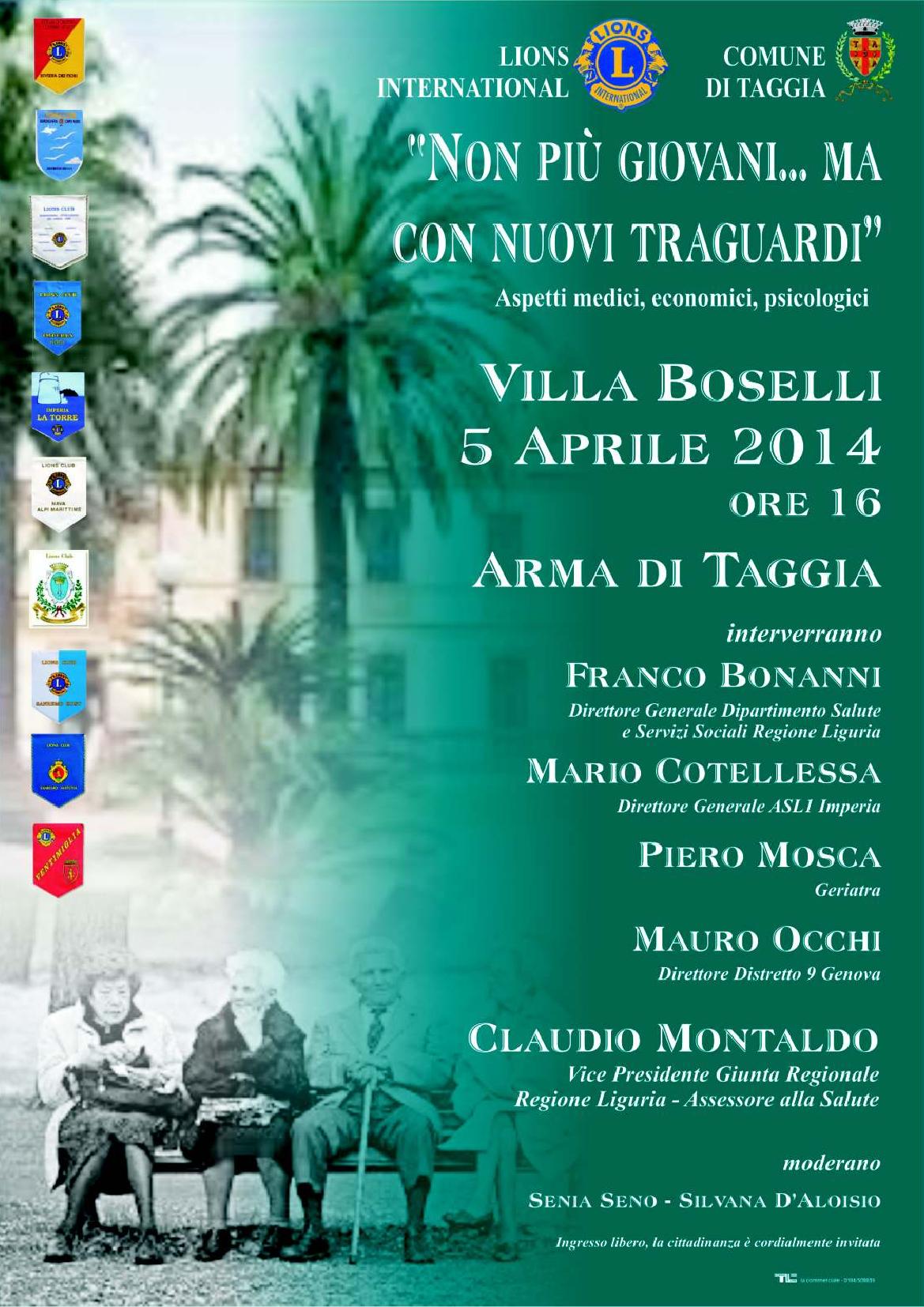 Convegno Villa Boselli