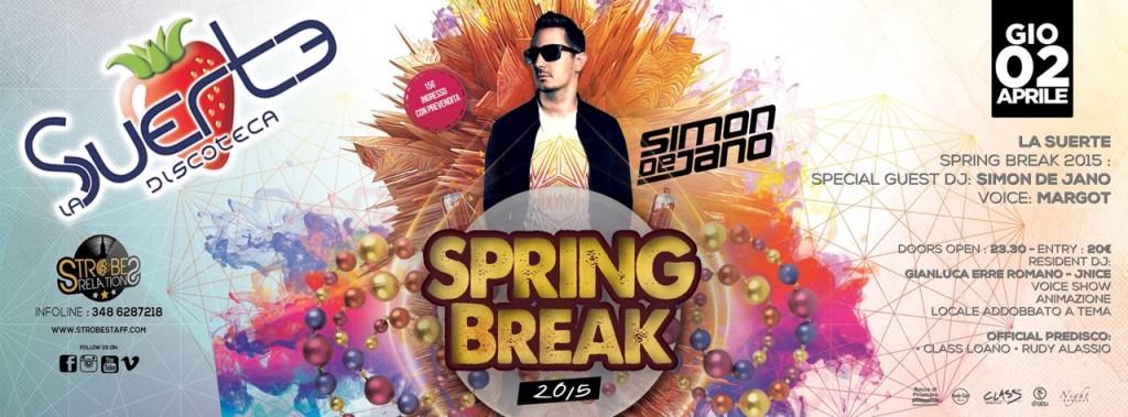 Locandina Spring Break Party