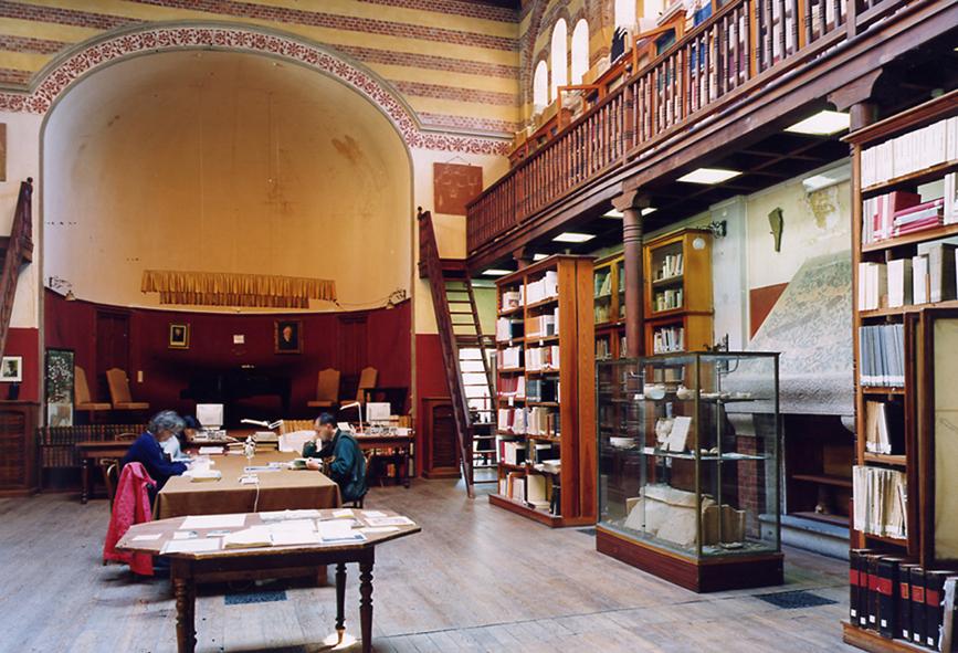Bordighera Museo Bicknell interno