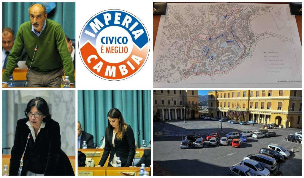 collage imperiacambia_piano parcheggi