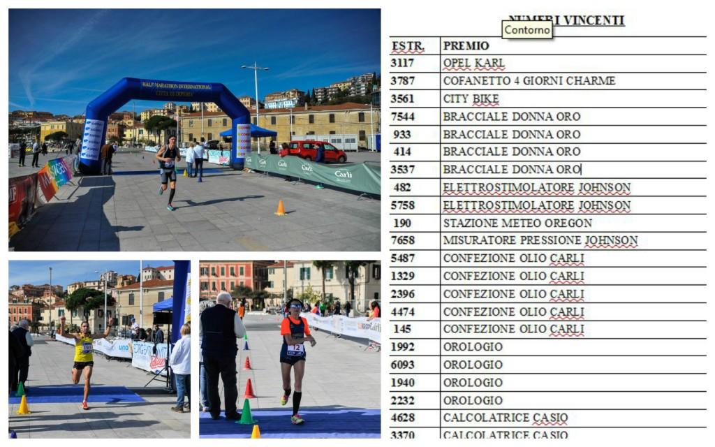 Maratonaecco Pn8n0ozkxw Della Lotteria Imperiamezza I Biglietti Vincenti EWDH9I2