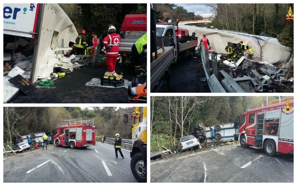 incidente autostrada morti