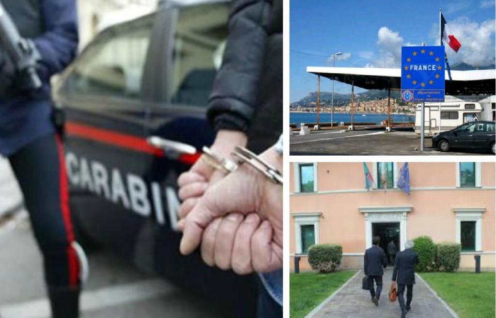 arresto passeur carabinieri