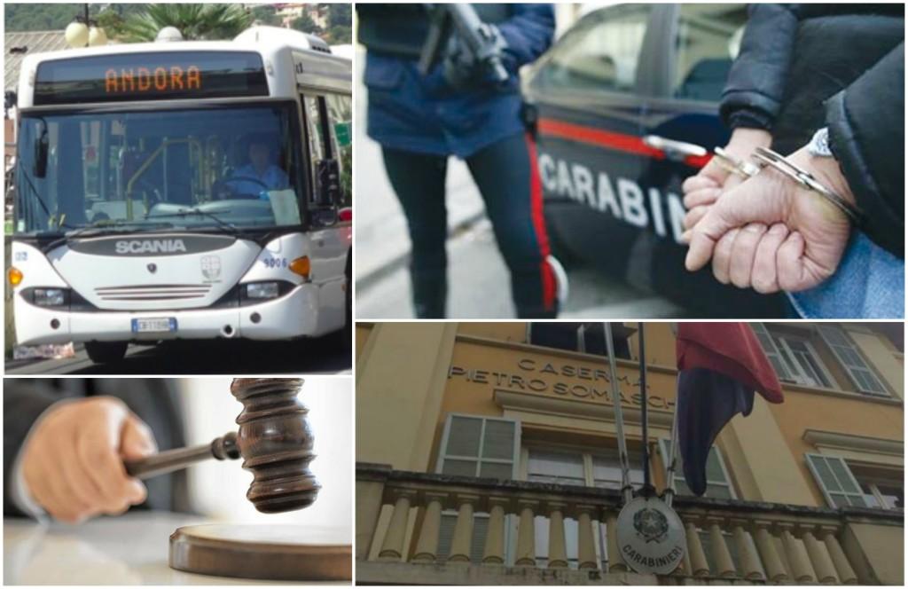 arresto bus