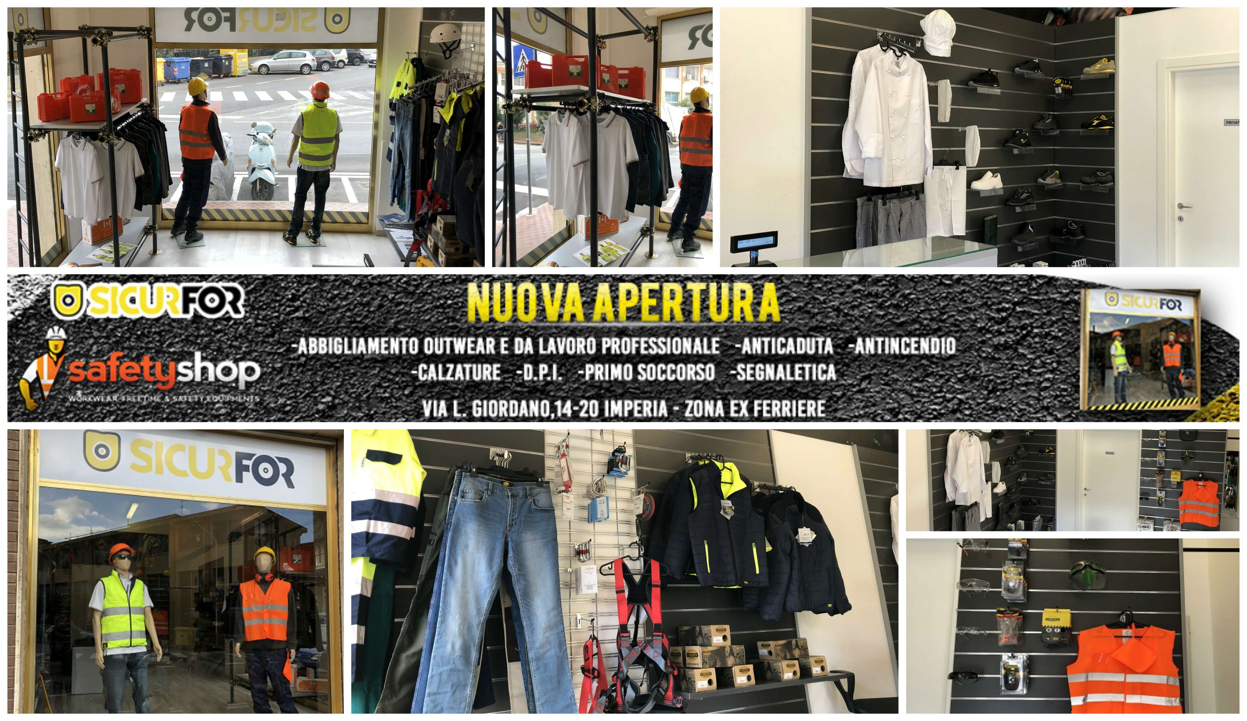 Abbigliamento professionale e di sicurezza   Frosinone   Ar.Ant.