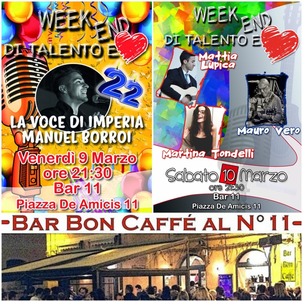 week end bar 11