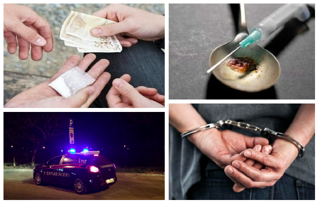 eroina-spaccio-pusher-arresto-carabinieri