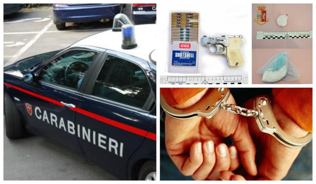 carabinieri-dolceacqua-arresto-pistola-cocaina
