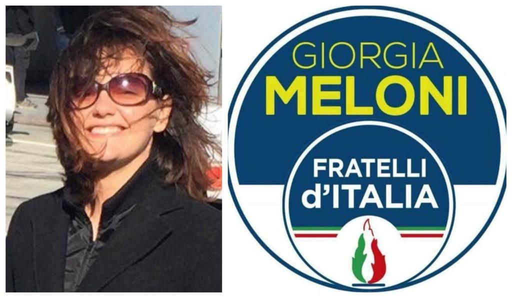 lorenza-bellini-fratelli-italia-simbolo-elezioni-imperia