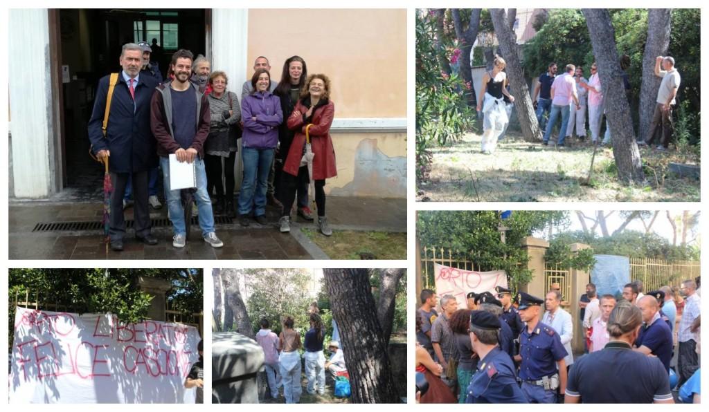 banca-italia-giardini-attivisti-talpa-orologio-processo-tribunale