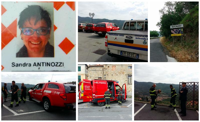 sandra-antinozzi-scomparsa-bestagno-vigili-del-fuoco-protezione-civile