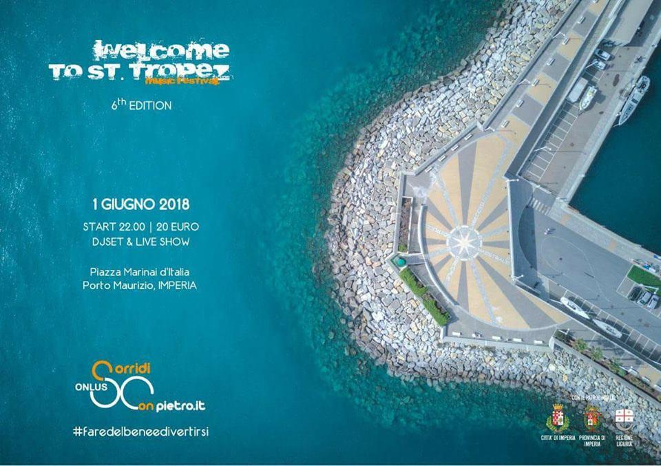Welcome-To-St-Tropez-sorridi-con-pietro-onlus-imperia-piazza-marinai-italia