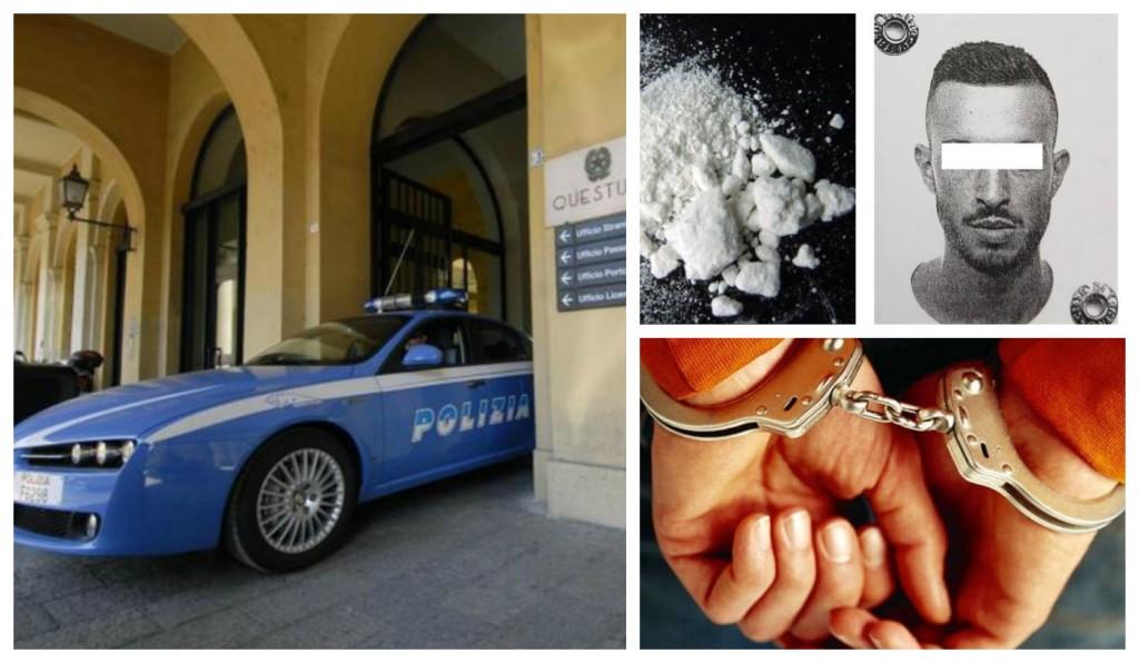 polizia-arresto-cocaina-ricercato
