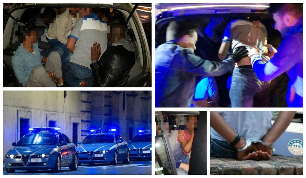 polizia-arresto-passeur-clandestini