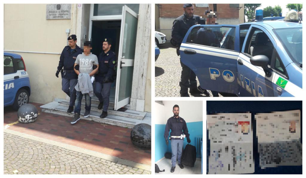 polizia-frontiera-arresto-siriani-ventimiglia