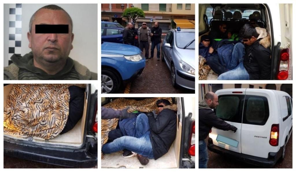 polizia-passeur-clandestini-confine-francia-arresto