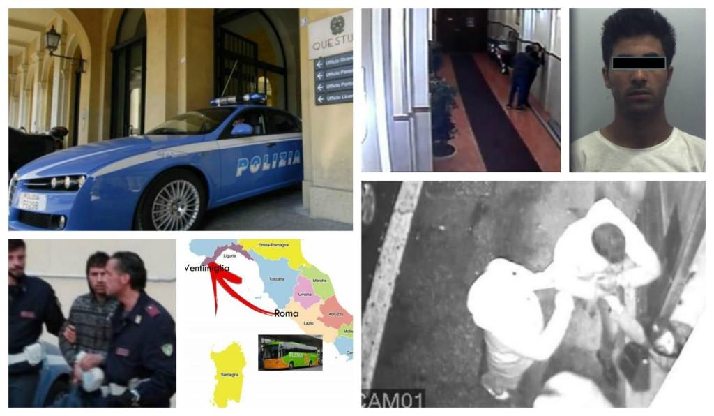 questura-arresto-rapinatore-seriale-polizia-ventimiglia