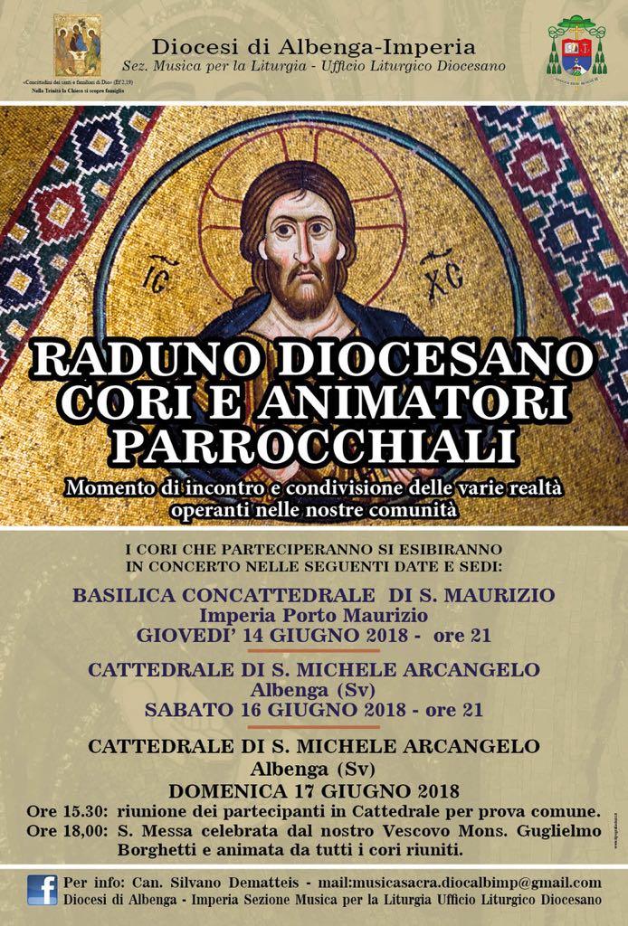 Imperia raduno cori parrocchiali 2018