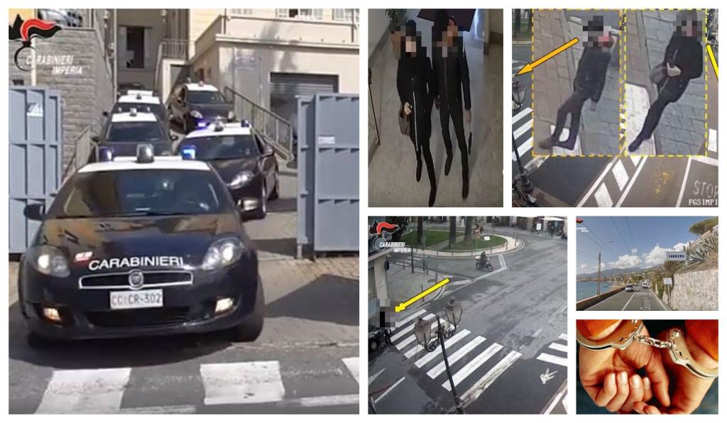 carabinieri arresto furti sanremo anziana truffator2i