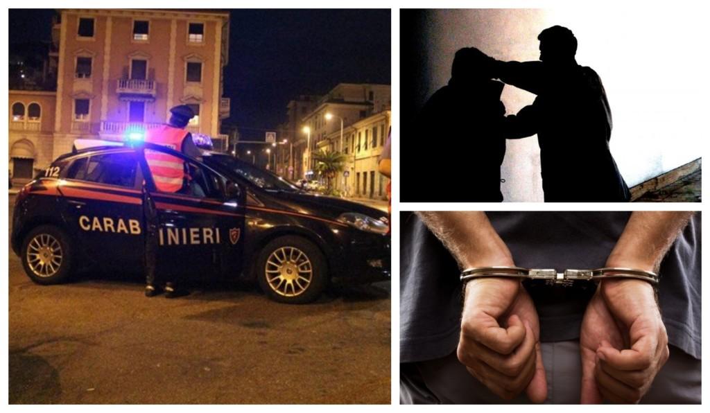 carabinieri arresto manette escandescenza