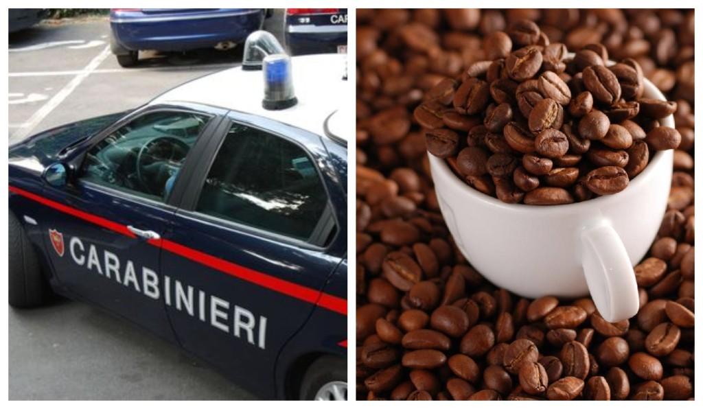 carabinieri caffè chicchi taggia