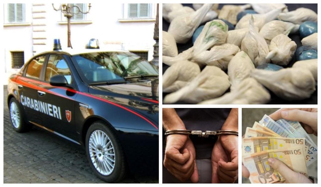carabinieri eroina arresto spacciatore droga