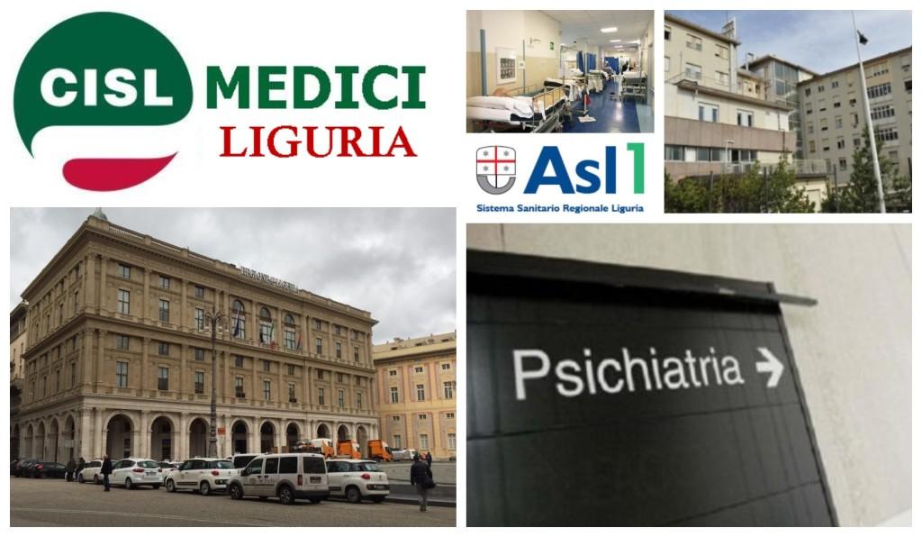 cisl medici liguria regione psichiatria ospedale