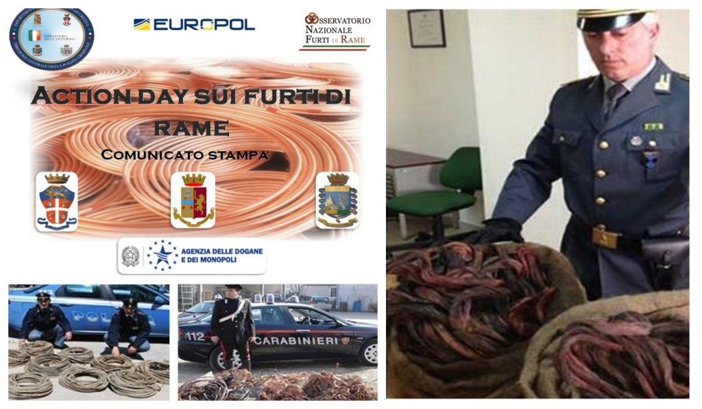 furti di rame action day europa