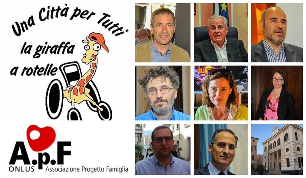 giraffa-a-rotelle-candidati-sindaco-imperia-biblioteca-apf-onlus-1