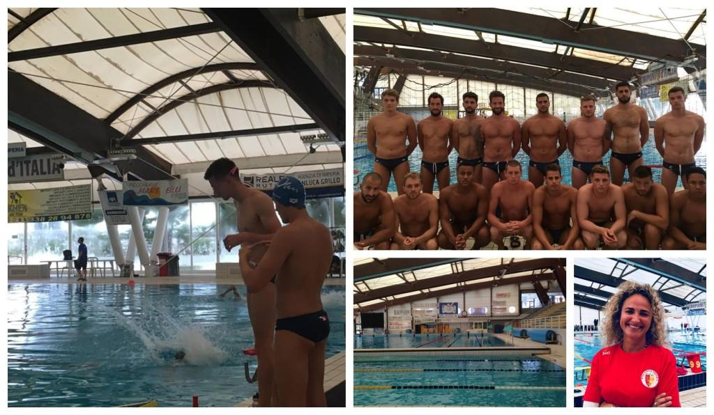 nazionale francese pallanuoto imperia europeo allenamento piscina cascione rari nantes