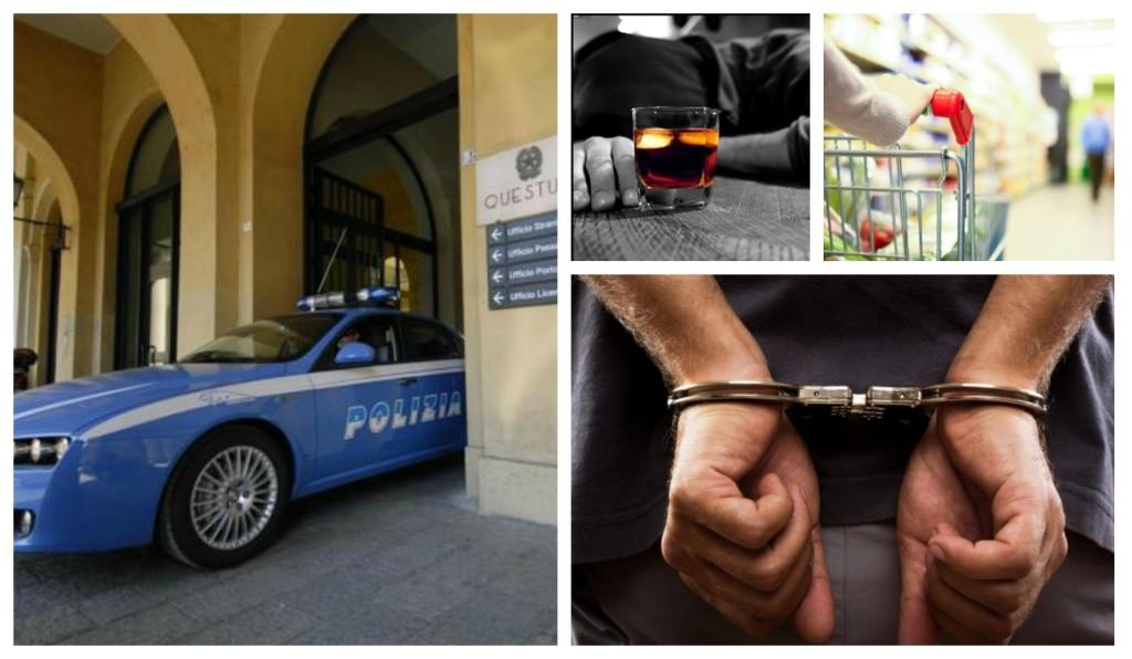 polizia arresto domiciliari ubriaco