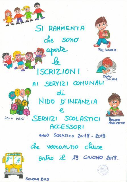 servizi scolastici iscrizione imperia