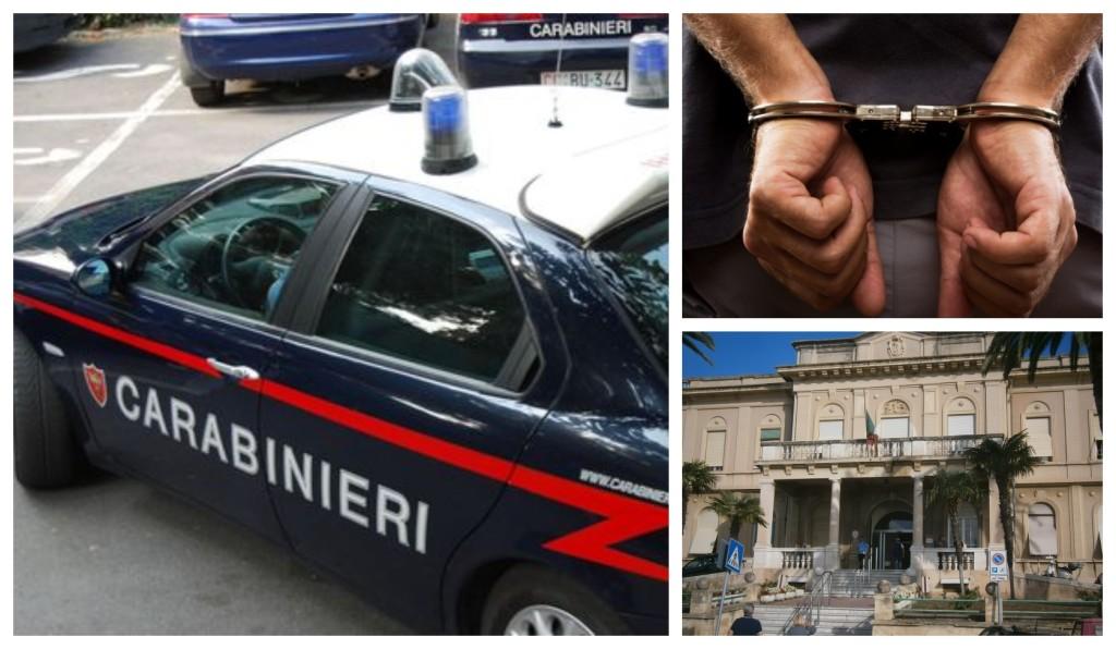 carabinieri incidente rissa sanremo