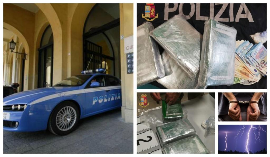 questura arresto pregiudicato temporale cocaina