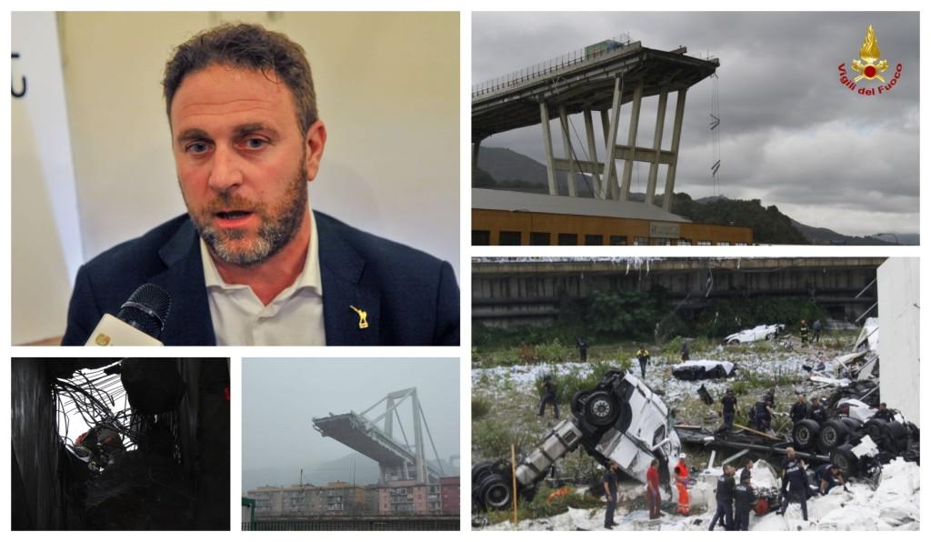 alessandro piana cordoglio vittime crollo ponte a10