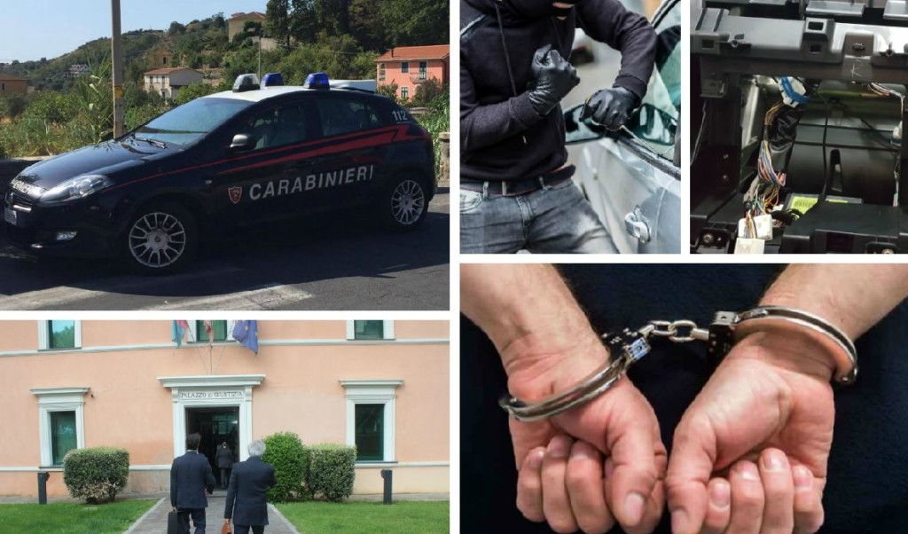 arresto furto autoradio