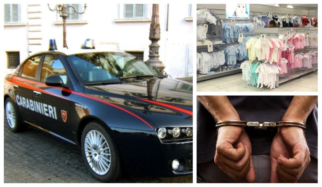 carabinieri furto reparto neonati sanremo