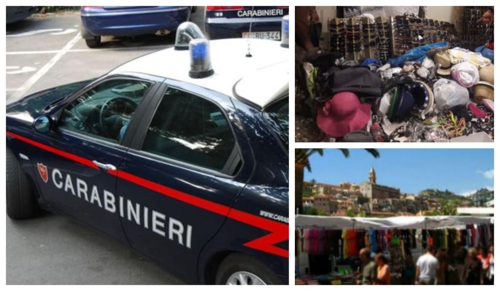 carabinieri ventimiglia sequestro mercato