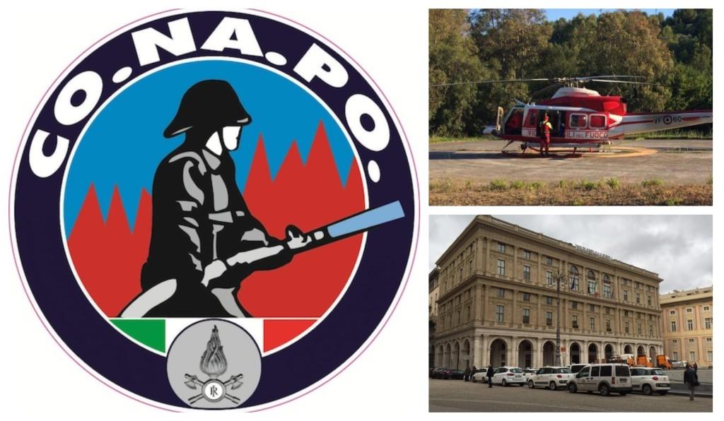 conapo elicottero vigili del fuoco sanità regione liguria