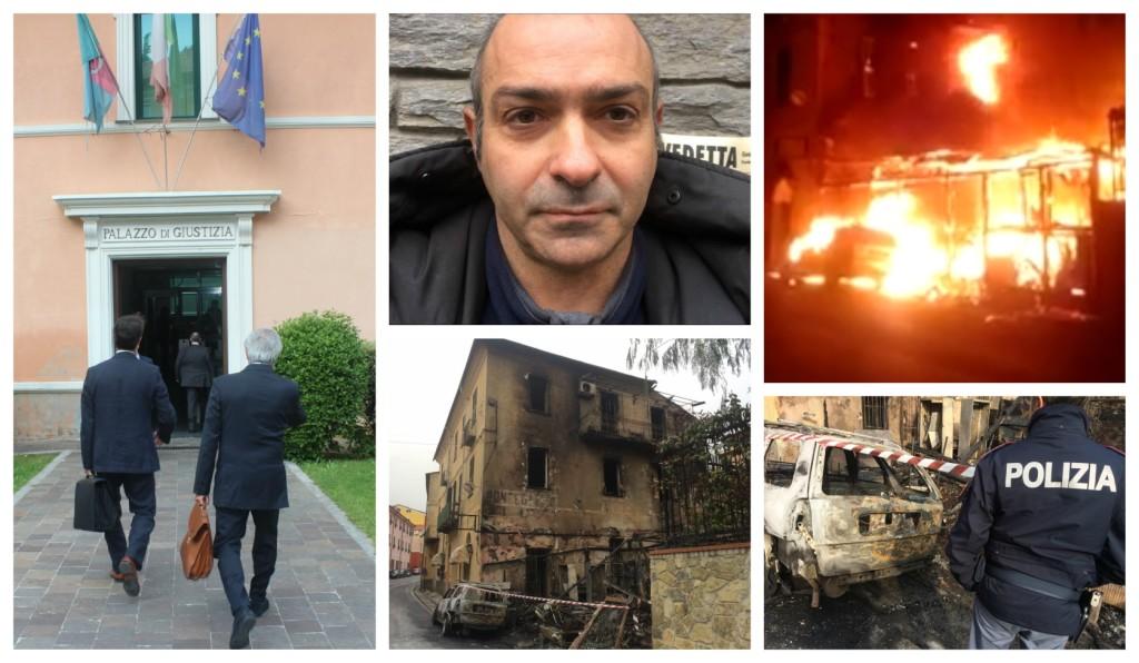incendio pontedassio inchiesta 8 agosto