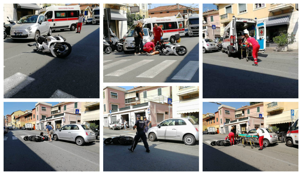 incidente auto scooter castelvecchio 28 agosto