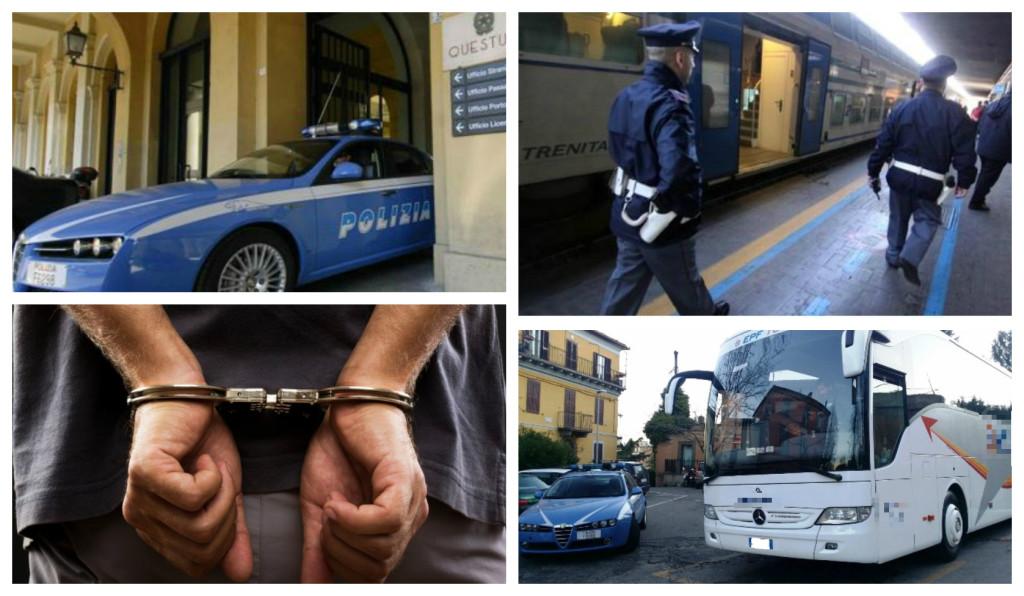 arresto polizia questura ventimiglia documenti falsi