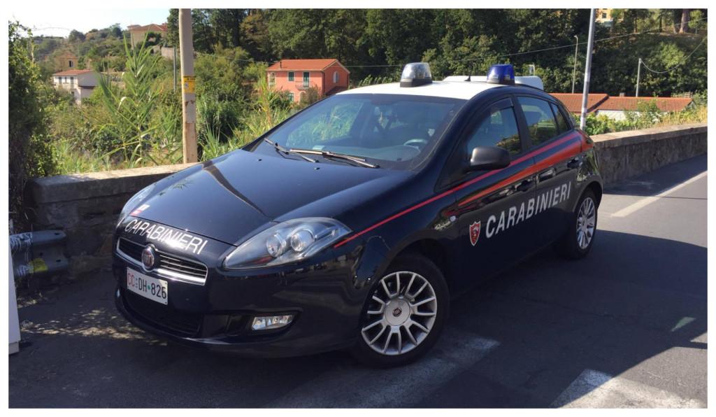 carabinieri suicida aquila d'arroscia