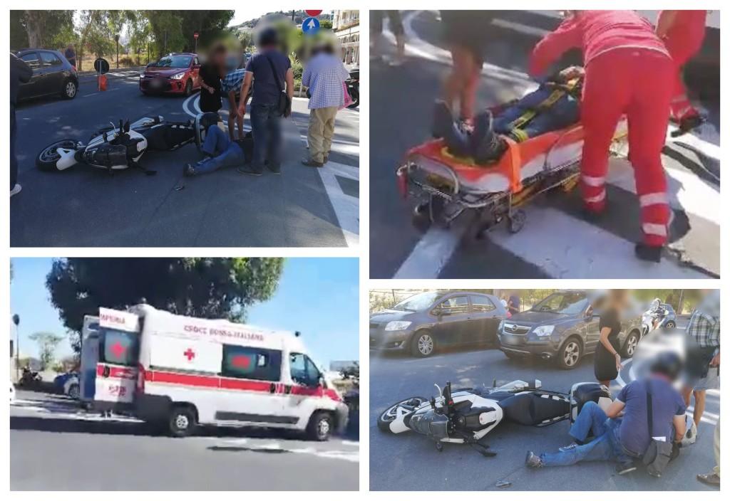 incidente-stradale-imperia-lungomare-vespucci-polizia-municipale