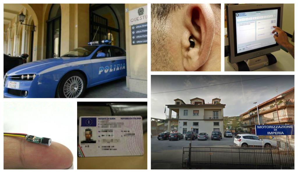 polizia telecamera esame patente motorizzazione_