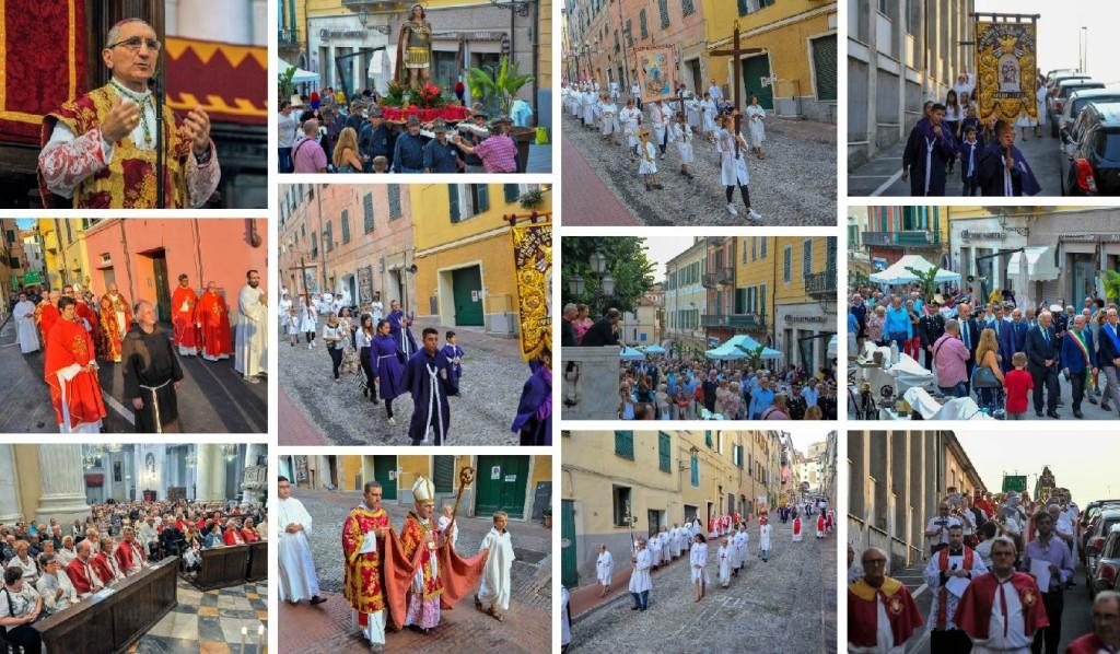 processione collage
